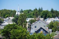 Le toit complète le Martha's Vineyard Images libres de droits