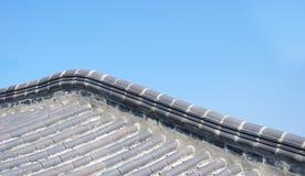 Le toit d'une construction Images libres de droits