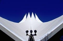 Le toit de Berlin´s Tempodrom Image stock