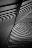 Le toit de la gare ferroviaire de Liège-Guillemins Image stock