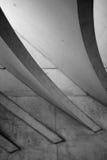 Le toit de la gare ferroviaire de Liège-Guillemins Images stock