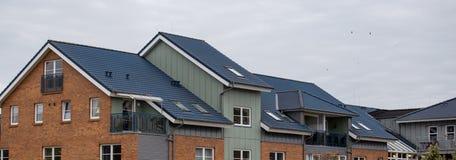 Le toit de la maison image stock