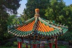 Le toit de temple du haut de Yong bouddhiste et de x27 ; Et x28 ; Temple de jamais image libre de droits