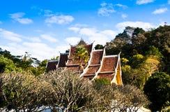 Le toit du temple. Image libre de droits