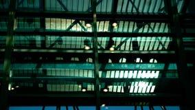 Le toit en acier images stock