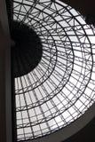 Le toit en verre de cercle Photographie stock