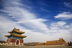 Le tombe orientali qing Fotografia Stock Libera da Diritti