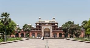 Le tombeau d'Akbar, Agra, Inde Photographie stock libre de droits
