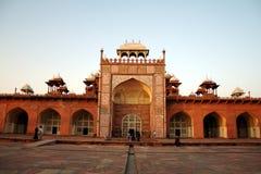 Le tombeau d'Akbar chez Sikandara, Agra Photographie stock