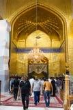 Le tombeau d'Imam Abbas Images stock