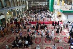 Le tombeau d'Imam Abbas Photo stock