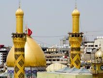 Le tombeau d'Imam Hussein dans Karbala Photo libre de droits