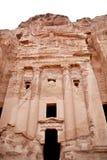 Le tombeau d'urne dans PETRA Images libres de droits