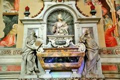 Le tombeau de Galileo Galilei en Italie Images stock