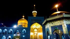 Le tombeau de l'alRida d'Imam Ali Images libres de droits