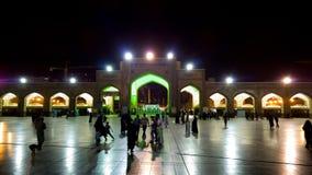 Le tombeau de l'alRida d'Imam Ali Images stock