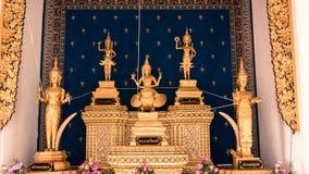 Le tombeau de pilier de ville de Bangkok est l'endroit célèbre pour les peuples thaïlandais Photographie stock libre de droits