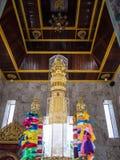 Le tombeau de pilier de ville de la province de Surat Thani Images stock