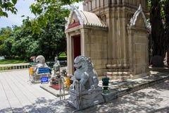 Le tombeau du Roi Prasat-Thong au palais d'été Photos stock