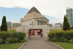 Le tombeau du souvenir à Melbourne, Australie Photos stock