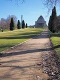 Le tombeau du souvenir vu des sud un matin clair Photographie stock libre de droits