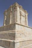 Le tombeau et la statue du poète Firdausi Photos stock