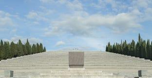 Le tombeau militaire de Redipuglia, Italie Image libre de droits