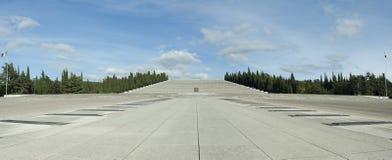 Le tombeau militaire de Redipuglia, Italie Photographie stock