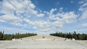 Le tombeau militaire de Redipuglia, Italie photo stock
