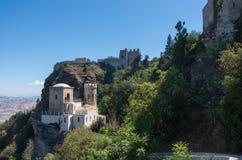 Le Torretta Pepoli - peu de château et château médiéval de Vénus Photo libre de droits