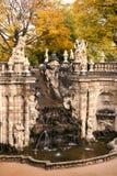 Le tountain dans Zwinger, Allemagne image stock