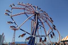 Le tour d'effort dans Coney Island Luna Park à Brooklyn, NY photo stock