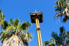 Le tour de condor de Hurakan dans le parc à thème d'Aventura de port Photographie stock