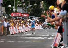 Le-Tour de France 2009 - ringsum 4 Stockbilder