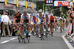 Le-Tour de France 2009 - ringsum 4 Stockbild