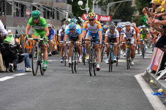 Le-Tour de France 2009 - ringsum 4 Stockbilder