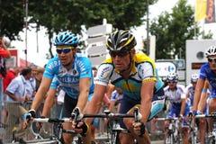 Le-Tour de France 2009 - ringsum 4 Stockbild