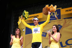 Le-Tour de France 2009 - ringsum 4 Stockfotos