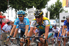 Le Tour de France 2009 - Round 4. Astana's Lance Armstrong during the round 4 of the Tour de France 2009, during the 4th round Le Cap d'Agde - Perpignan. In Stock Image