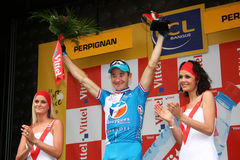 Le Tour DE Frankrijk 2009 - om 4 Royalty-vrije Stock Afbeeldingen