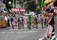 Le Tour DE Frankrijk 2009 - om 4 Royalty-vrije Stock Foto's