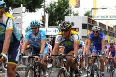 Le Tour DE Frankrijk 2009 - om 4 Stock Foto's