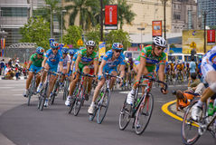 Le Tour de Langkawi 2008 Kuala Lumpur Stock Images