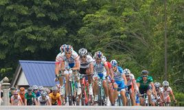 Le Tour de Langkawi 2011 stage 7 Royalty Free Stock Images