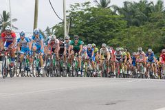 Le Tour de Langkawi 2011 stage 7 Stock Photography