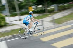 Le Tour de Langkawi 2012 at Putrajaya, Malaysia. Royalty Free Stock Photo