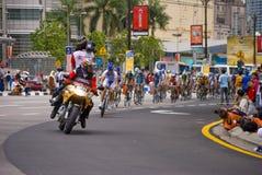 Le Tour de Langkawi Kuala Lumpur 2008 stockbild