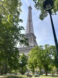 Le Tour Eiffel. The Eiffel Tower Royalty Free Stock Photography