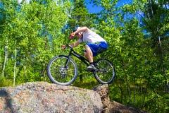 Le tour extrême de vélo Image libre de droits