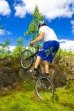 Le tour extrême de vélo Photos libres de droits